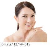 Купить «Asian beauty face», фото № 12144015, снято 19 мая 2019 г. (c) PantherMedia / Фотобанк Лори