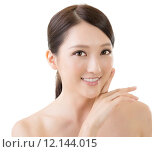 Купить «Asian beauty face», фото № 12144015, снято 17 сентября 2019 г. (c) PantherMedia / Фотобанк Лори