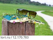 Купить «nature green leisure outside book», фото № 12170783, снято 19 августа 2019 г. (c) PantherMedia / Фотобанк Лори