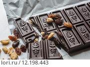Купить «dessert chocolate cocoa nibbling sweetie», фото № 12198443, снято 23 апреля 2019 г. (c) PantherMedia / Фотобанк Лори