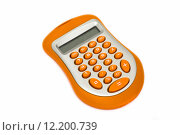 Купить «Calculator, electronic equipment for simple mathematical calculations.», фото № 12200739, снято 23 июля 2019 г. (c) PantherMedia / Фотобанк Лори