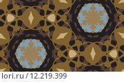 Купить «Seamless Brown Geometric Background», иллюстрация № 12219399 (c) PantherMedia / Фотобанк Лори