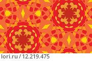 Купить «Seamless Orange Arabesque Pattern», иллюстрация № 12219475 (c) PantherMedia / Фотобанк Лори