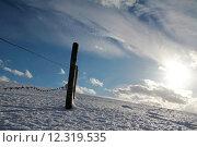 Купить «sky winter snow clouds ice», фото № 12319535, снято 23 марта 2019 г. (c) PantherMedia / Фотобанк Лори