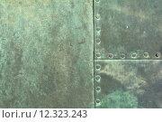 Купить «old metal surface copper weatherworn», фото № 12323243, снято 19 марта 2019 г. (c) PantherMedia / Фотобанк Лори