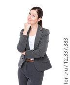 Купить «Business woman portrait», фото № 12337383, снято 16 января 2019 г. (c) PantherMedia / Фотобанк Лори