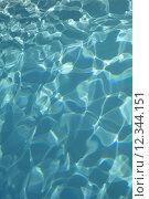 Купить «Reflections in a in a swimming pool in summer», фото № 12344151, снято 25 июня 2019 г. (c) PantherMedia / Фотобанк Лори