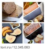 Купить «French paste and foie gras», фото № 12345083, снято 13 ноября 2018 г. (c) PantherMedia / Фотобанк Лори