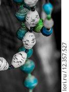 Купить «Paper beads necklaces», фото № 12357527, снято 17 августа 2018 г. (c) PantherMedia / Фотобанк Лори