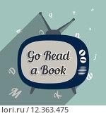 Купить «Go read a book», иллюстрация № 12363475 (c) PantherMedia / Фотобанк Лори