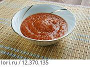 Купить «Zacusca, овощной соус», фото № 12370135, снято 25 августа 2015 г. (c) Александр Fanfo / Фотобанк Лори