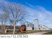 Купить «Storage of cereals, production of biogas and irrigator», фото № 12378503, снято 20 января 2019 г. (c) PantherMedia / Фотобанк Лори