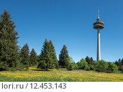 Купить «tower balinger berge communication plettenberg», фото № 12453143, снято 16 июля 2019 г. (c) PantherMedia / Фотобанк Лори