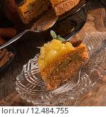 Купить «food snack dessert cake pie», фото № 12484755, снято 19 сентября 2019 г. (c) PantherMedia / Фотобанк Лори
