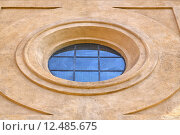 Купить «incision   in house  window    italy  lombardy    rose window», фото № 12485675, снято 23 марта 2019 г. (c) PantherMedia / Фотобанк Лори