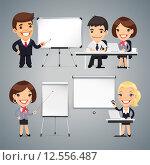 Бизнес презентация, семинар или тренинг. Стоковая иллюстрация, иллюстратор Viachaslau Vaitsenok / Фотобанк Лори