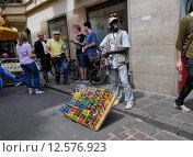 Купить «Bolzano, Italy, sales of sunglasses in the old town», фото № 12576923, снято 5 августа 2014 г. (c) Caro Photoagency / Фотобанк Лори