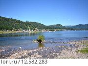 Купить «Телецкое озеро», фото № 12582283, снято 4 августа 2014 г. (c) Александр Карпенко / Фотобанк Лори