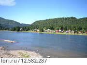 Купить «Телецкое озеро», фото № 12582287, снято 4 августа 2014 г. (c) Александр Карпенко / Фотобанк Лори