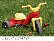 Купить «Kids Tricycle», фото № 12614127, снято 27 марта 2019 г. (c) PantherMedia / Фотобанк Лори