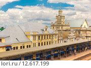 Купить «The railway station Brest», фото № 12617199, снято 17 января 2019 г. (c) PantherMedia / Фотобанк Лори