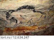 Наскальная живопись в Саблинской пещере (2014 год). Стоковое фото, фотограф Алексей Кокоулин / Фотобанк Лори
