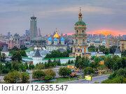Купить «Москва. Новоспасский монастырь», эксклюзивное фото № 12635547, снято 3 августа 2015 г. (c) Литвяк Игорь / Фотобанк Лори
