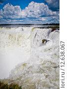 Большой водопад. Стоковое фото, фотограф Anya Stogova / Фотобанк Лори