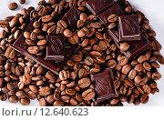 Кофе и шоколад. Стоковое фото, фотограф Юлия Горбачева / Фотобанк Лори