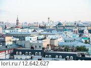 Купить «Архитектура в центре Москвы сверху», эксклюзивное фото № 12642627, снято 12 августа 2015 г. (c) Алёшина Оксана / Фотобанк Лори