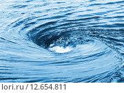Купить «Водоворот в реке», фото № 12654811, снято 24 мая 2015 г. (c) Икан Леонид / Фотобанк Лори