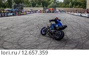 Мотоциклетное шоу (2015 год). Редакционное фото, фотограф Андрей Дубаков / Фотобанк Лори