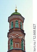 Купол старинной мечети с полумесяцем, город Казань (2015 год). Стоковое фото, фотограф Динара Х / Фотобанк Лори