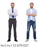 Купить «same man in different style clothes», фото № 12670027, снято 15 марта 2014 г. (c) Syda Productions / Фотобанк Лори