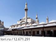 Купить «Религиозный комплекс Мевляна. Конья. Турция.», фото № 12671291, снято 7 мая 2015 г. (c) Сергей Афанасьев / Фотобанк Лори