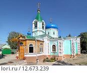 Купить «Церковь Илии Пророка в Можайске», эксклюзивное фото № 12673239, снято 22 августа 2015 г. (c) Сергей Соболев / Фотобанк Лори