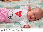 Купить «Гормональная сыпь у новорожденного», фото № 12673347, снято 14 января 2015 г. (c) Анастасия Улитко / Фотобанк Лори
