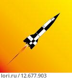 Купить «V2 Rocket Launch», иллюстрация № 12677903 (c) PantherMedia / Фотобанк Лори