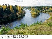 Река Сосьва (2015 год). Стоковое фото, фотограф Андрей Казаков / Фотобанк Лори