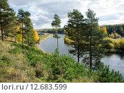 Река Сосьва. Стоковое фото, фотограф Андрей Казаков / Фотобанк Лори