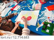 Детское творчество (2015 год). Редакционное фото, фотограф Юрий Коваль / Фотобанк Лори