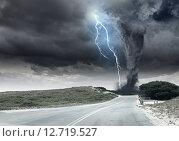 Купить «Tornado», фото № 12719527, снято 24 марта 2010 г. (c) Sergey Nivens / Фотобанк Лори