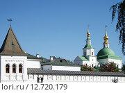 Даниловский монастырь в Москве (2015 год). Стоковое фото, фотограф Natalya Sidorova / Фотобанк Лори