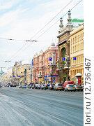 Купить «Город Санкт-Петербург. Невский проспект», фото № 12736467, снято 4 января 2011 г. (c) Зобков Георгий / Фотобанк Лори