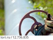 Газовый вентиль. Стоковое фото, фотограф Икан Леонид / Фотобанк Лори