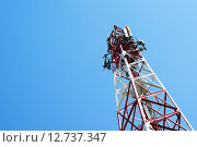 Купить «Антенна сотовой связи», фото № 12737347, снято 15 февраля 2014 г. (c) Сергеев Валерий / Фотобанк Лори