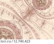 Абстрактный рисунок. Стоковая иллюстрация, иллюстратор Наталья Данченко / Фотобанк Лори
