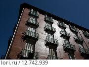 Купить «Madrid, Spain, mehrstoeckiges house Plaza Sta Ana corner of Calle del Principe», фото № 12742939, снято 8 сентября 2014 г. (c) Caro Photoagency / Фотобанк Лори