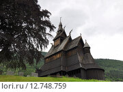 Купить «church norway holz bauweise holzkirche», фото № 12748759, снято 23 мая 2019 г. (c) PantherMedia / Фотобанк Лори