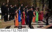 Купить «Испания,Каталония, Монтсеррат, хор в монастыре», видеоролик № 12760035, снято 14 августа 2018 г. (c) Валерий Назаров / Фотобанк Лори